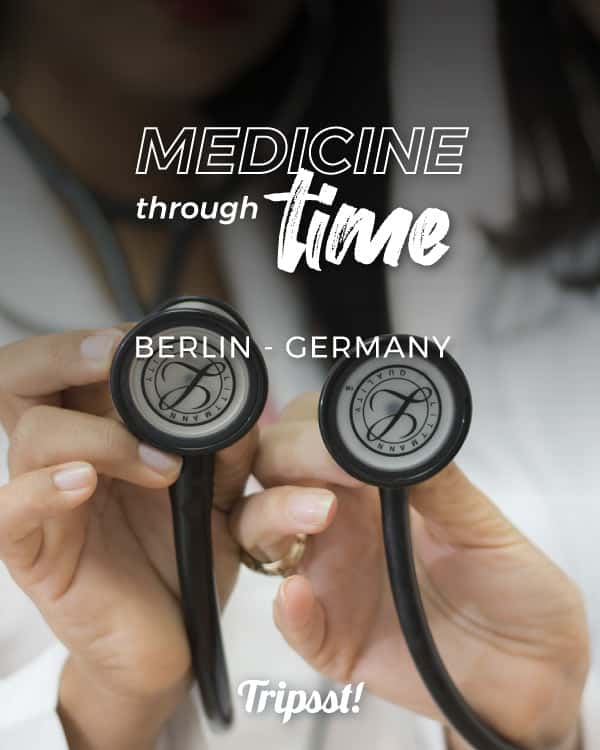 A pair of female doctors seem to use their stethoscopes