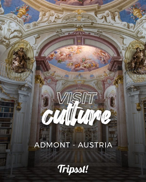 Almont Abbey is one of the most beautiful libraries in Europe