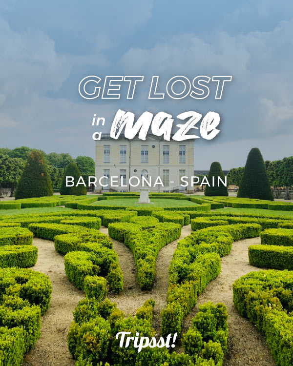 Maze close to the castle